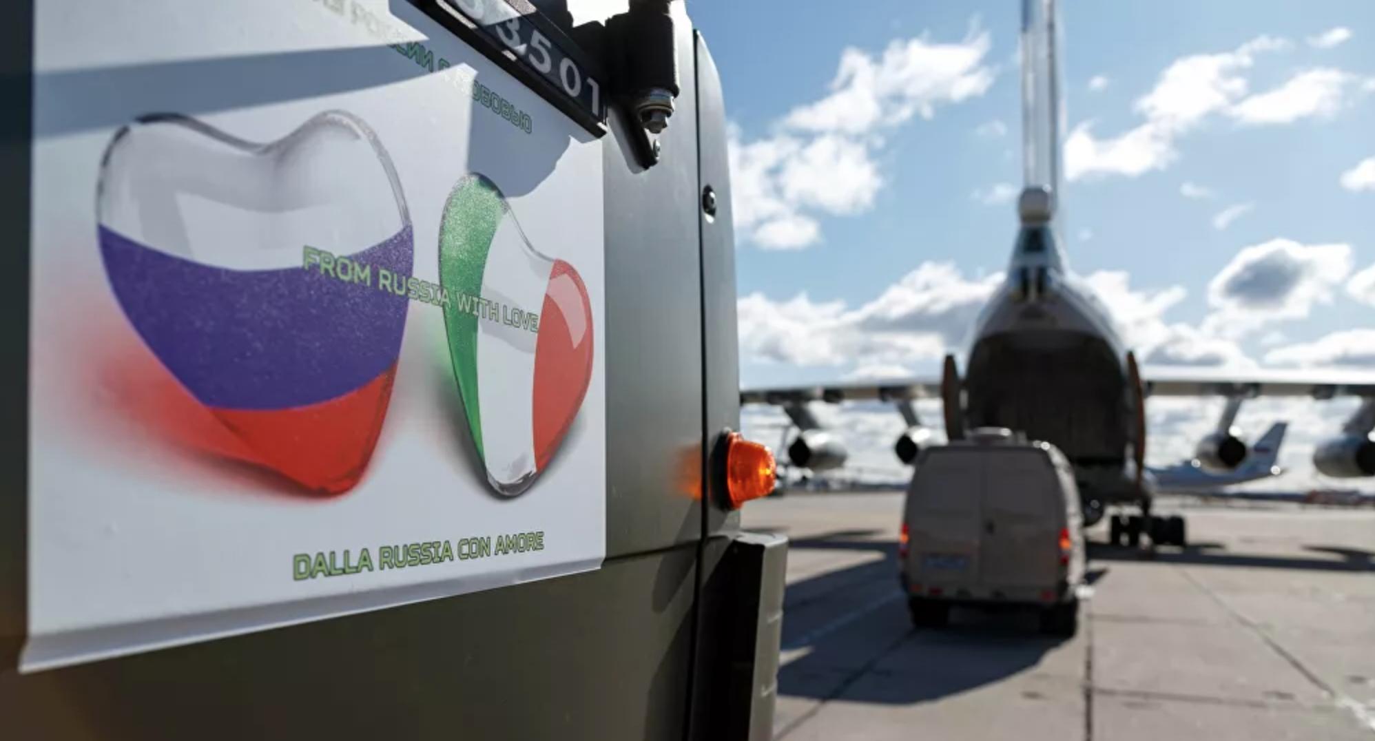 Máy bay Nga liên tiếp chuyển thiết bị, chuyên gia y tế ứng cứu Italia