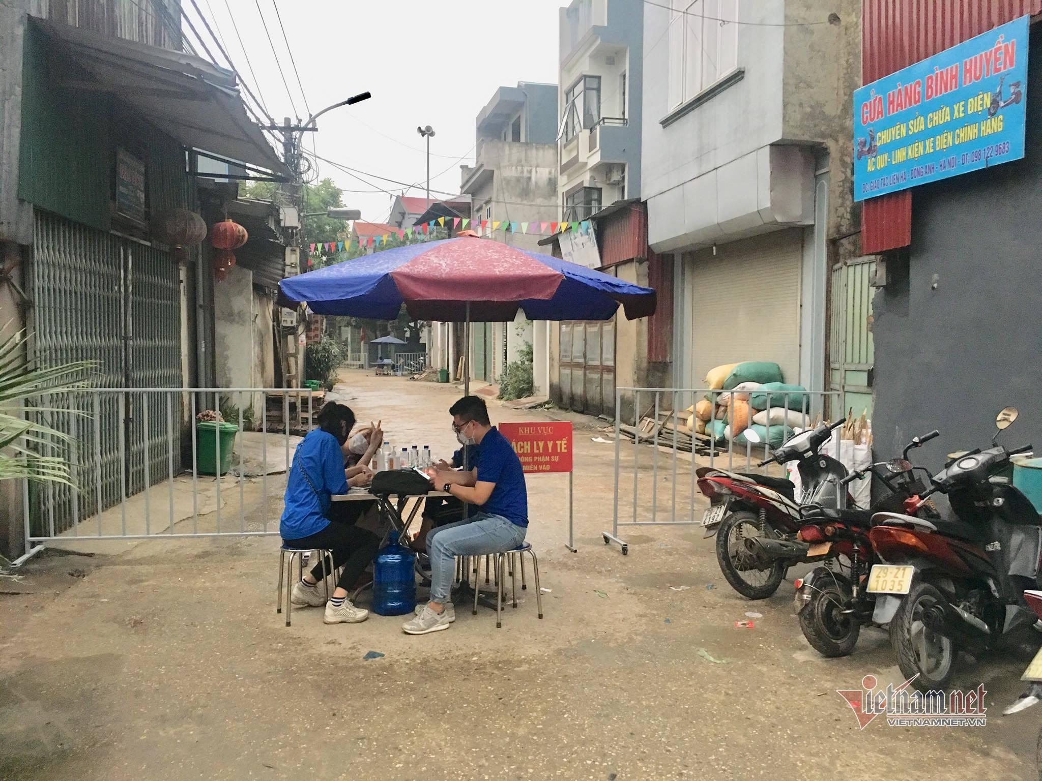 Hà Nội cách ly 39 người trong 2 thôn ở huyện Đông Anh