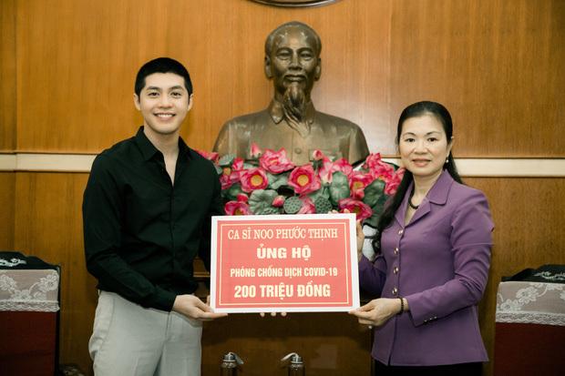 Covid-19: Noo Phước Thịnh ủng hộ 200 triệu đồng