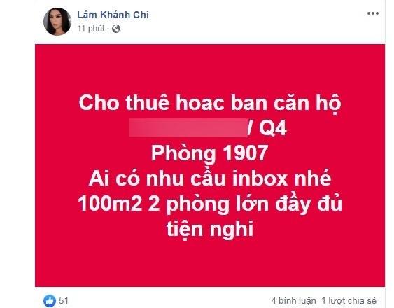 Lâm Khánh Chi rao bán nhà sau khi lộ mặt sưng phù vì dao kéo