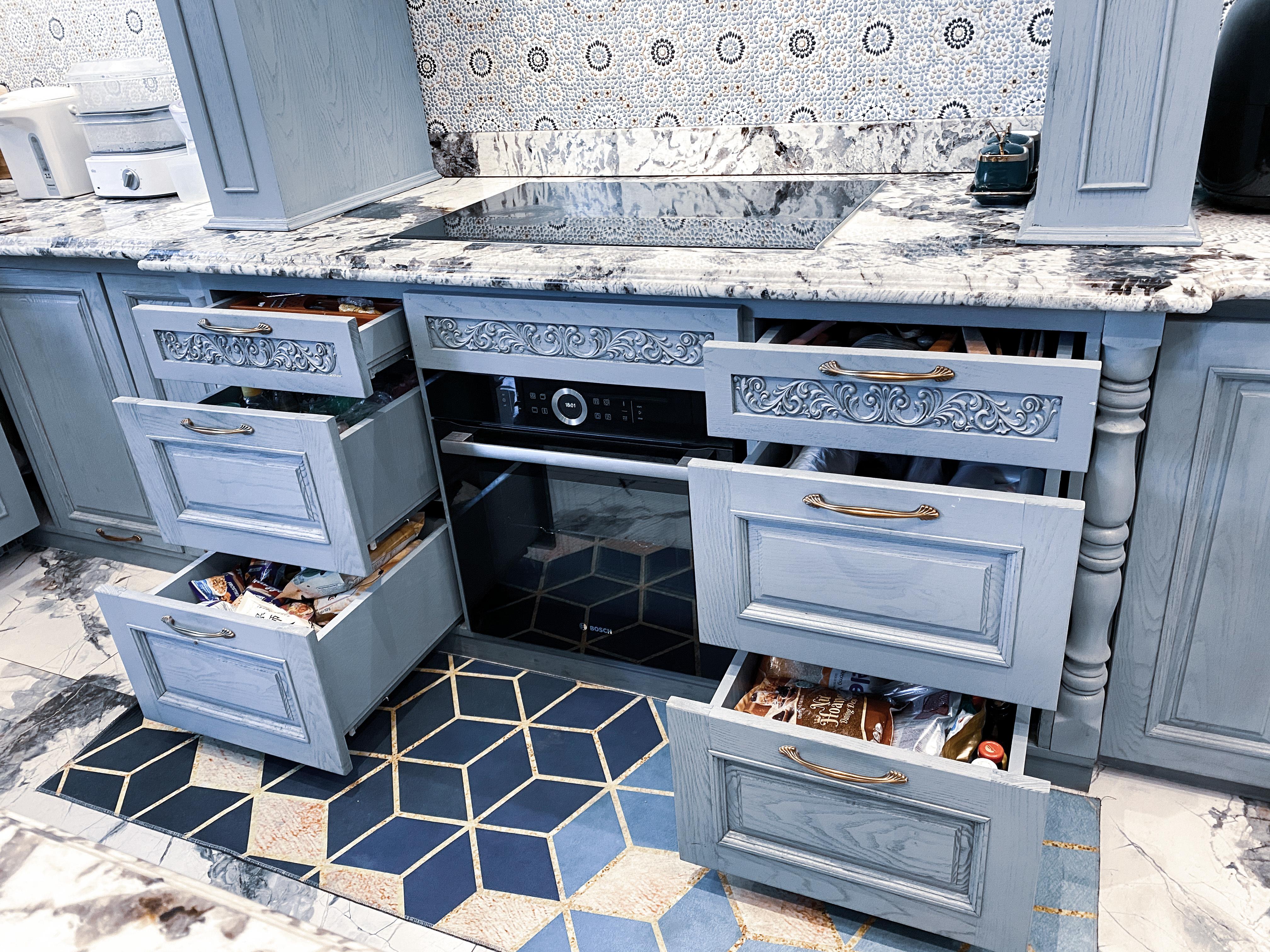 Hé lộ bếp sang chảnh trong biệt thự triệu đô vừa tậu của ca sĩ Đăng Khôi
