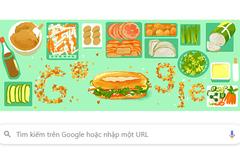 Google đưa hình ảnh bánh mì Việt Nam lên trang chủ hơn 10 quốc gia