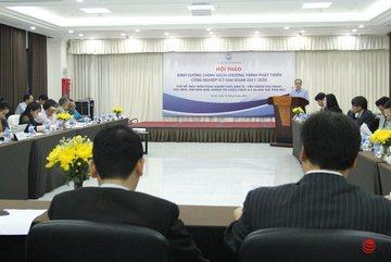 """Cần có các chính sách khuyến khích người Việt Nam dùng sản phẩm CNTT """"Make in Vietnam"""""""
