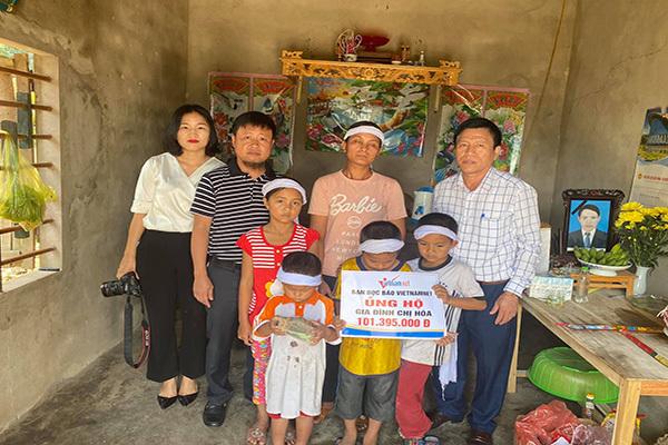 hoàn cảnh khó khăn,bạn đọc ủng hộ,từ thiện vietnamnet