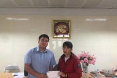 Trao hơn 113 triệu đồng đến em Nguyễn Hồng Đinh ung thư trung thất