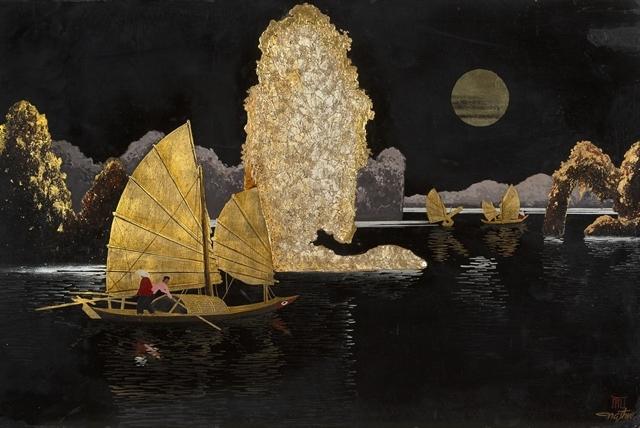 forged paintings,vietnamese painters,vn arts,vn paintings