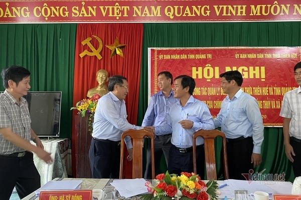 Quảng Trị, Thừa Thiên - Huế bắt tay xóa điểm nóng tranh chấp ranh giới