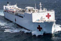 """Cận cảnh hai bệnh viện nổi giúp Mỹ chống """"ác quỷ"""" Covid-19"""