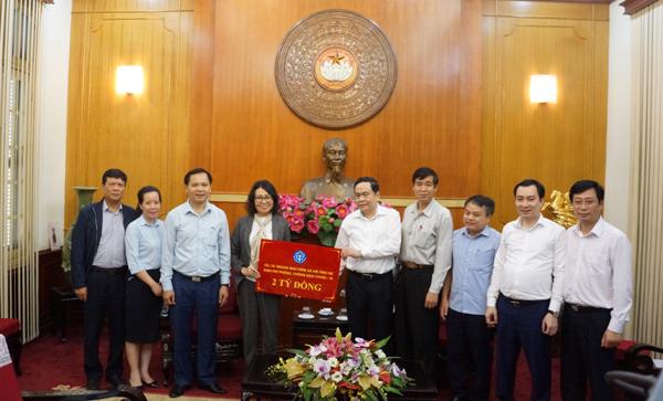 BHXH Việt Nam ủng hộ 2 tỷ đồng chống dịch Covid-19