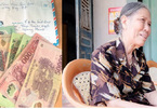 Cụ bà 78 tuổi đạp xe đến ủy ban xã ủng hộ 1 triệu đồng chống dịch Covid-19