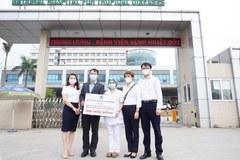 Delta Group ủng hộ 600 triệu đồng tri ân cán bộ y tế tuyến đầu chống dịchCOVID-19