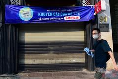 Hàng quán ở TP.HCM đồng loạt đóng cửa để chống dịch Covid-19