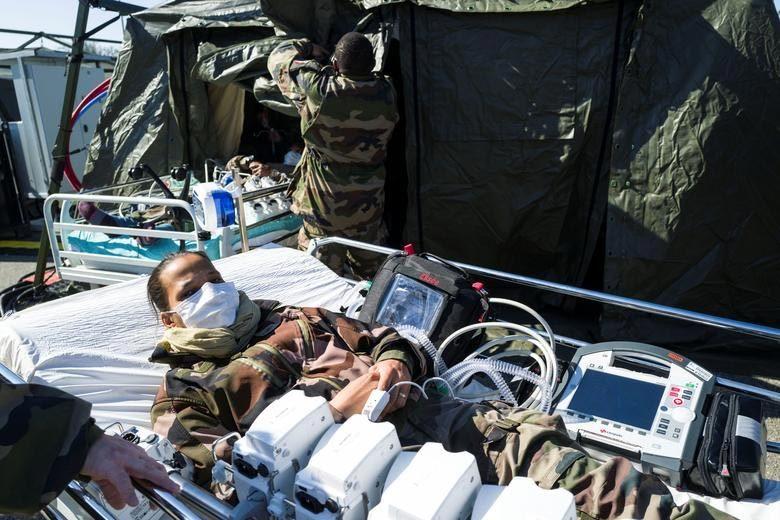 Các nước gấp rút lập bệnh viện dã chiến chống Covid-19