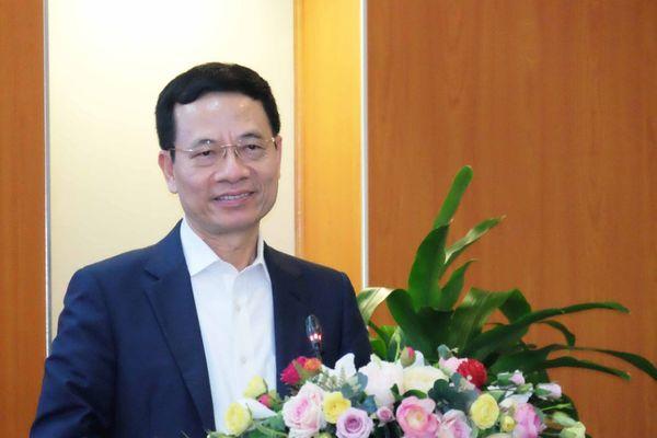 Toàn văn phát biểu của Bộ trưởng Nguyễn Mạnh Hùng tại Lễ công bố cam kết đồng hành chống dịch Covid-19 giữa ngành TT&TT và GD&ĐT