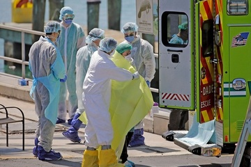 Số ca Covid-19 ở Mỹ sắp gấp ba Trung Quốc, Italia tiến gần đỉnh dịch