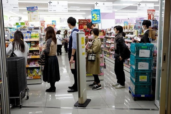 Thủ đô Nhật dần phong tỏa vì Covid-19