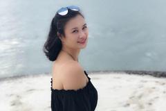 Vẻ đẹp của cựu hoa khôi bóng chuyền Kim Huệ