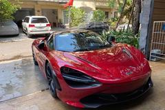 Siêu xe McLaren 720S đỉnh nhất Việt Nam về nước, chủ nhân cấp tập khử trùng