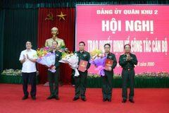 Bộ Quốc phòng bổ nhiệm 2 Chính ủy