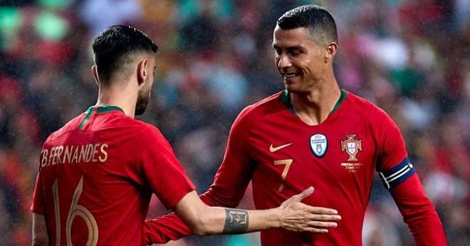 Bruno Fernandes: Tôi muốn gặt thành công như Ronaldo ở MU
