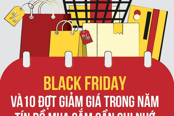 Black Friday và 10 đợt giảm giá trong năm tín đồ mua sắm cần ghi nhớ