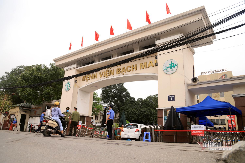Chủ tịch Hà Nội tranh luận về nguồn lây nhiễm từ 'ổ dịch' Bạch Mai