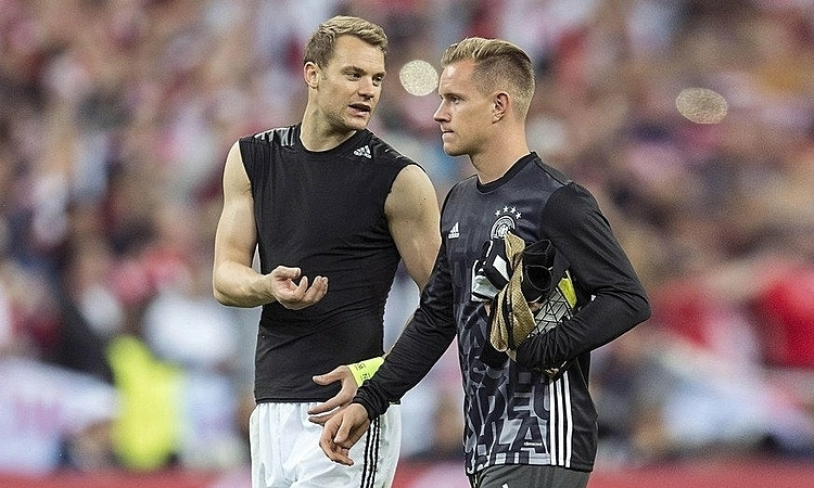 Bayern Munich phá kỷ lục chuyển nhượng mua Ter Stegen
