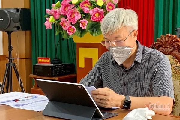 Bữa trưa lúc xế chiều sau cuộc họp trực tuyến cao điểm dịch ở Hải Dương