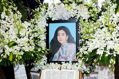 Hình ảnh đầu tiên trong lễ tang diễn viên Mai Phương