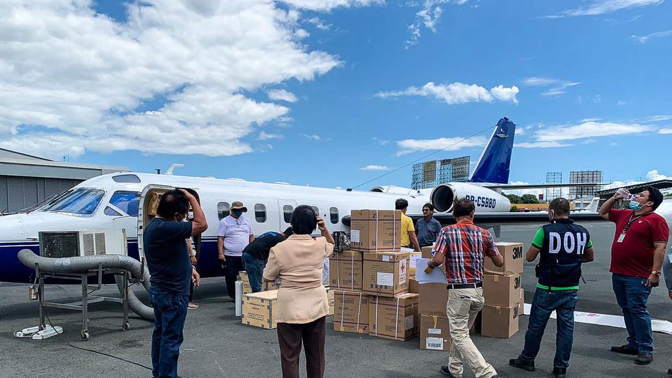 Cháy máy bay y tế ở Philippines, 8 người thiệt mạng