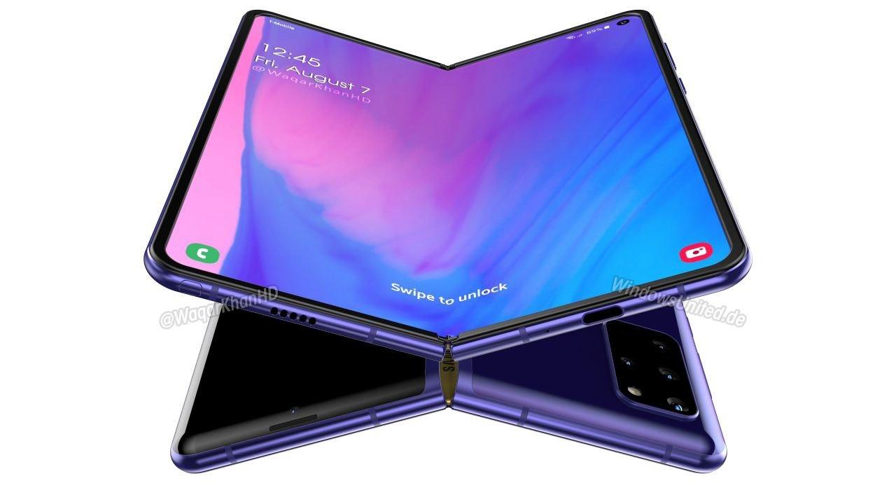 Ảnh concept Galaxy Fold 2 tiết lộ gì về flagship màn hình gập mới của Samsung?