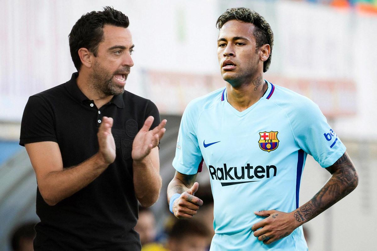 'Dream Team' của Barca: Xavi huấn luyện, Neymar là ngôi sao