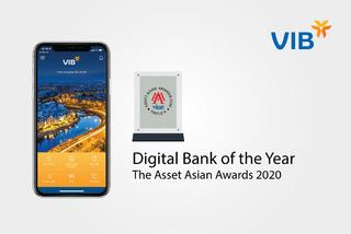 VIB nhận giải thưởng về Ngân hàng số bốn năm liên tiếp
