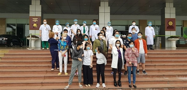 27 more COVID-19 patients released from Hanoi's hospital