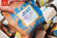 McDonald's tặng 5.000 phần ăn sáng cho nhân viên y tế TP.HCM