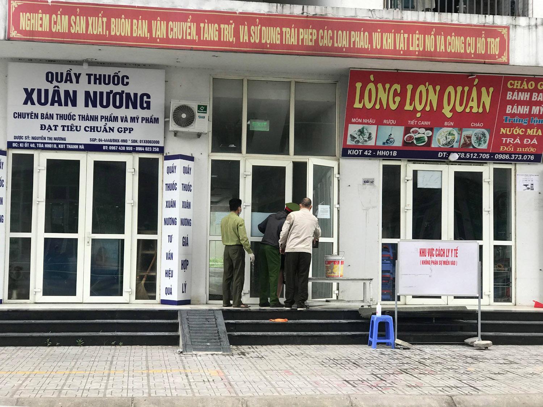 Phong tỏa tòa nhà KĐT Thanh Hà do có 2 người dương tính Covid-19