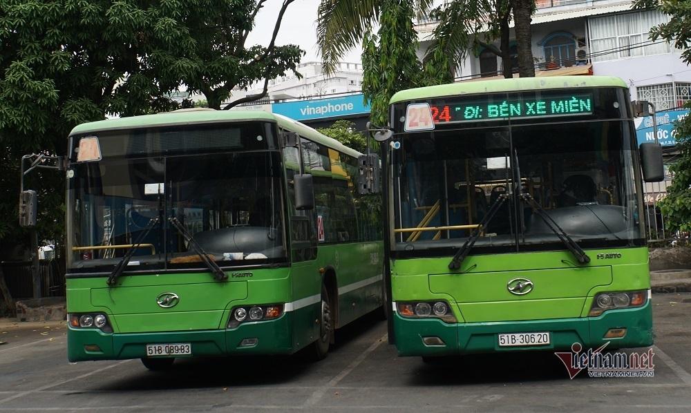 TP.HCM dừng chạy toàn bộ xe buýt để phòng chống dịch Covid-19
