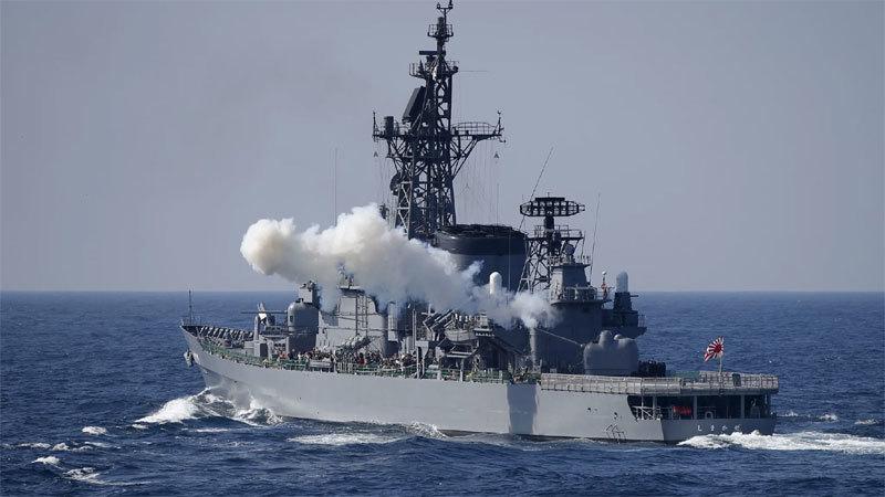 Chiến hạm Nhật và tàu cá Trung Quốc đâm nhau trên Biển Hoa Đông
