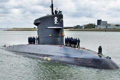 Tàu ngầm chiến lược Hà Lan điêu đứng vì Covid-19 'hạ gục' 1/6 thủy thủ đoàn