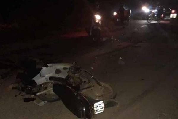Xe tải gây tai nạn chết người rồi bỏ chạy ở Bắc Giang