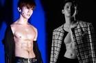 Changmin (TVXQ) 'đốn tim' người hâm mộ với cơ bụng săn chắc