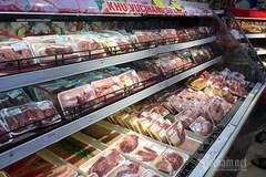 Tâm dịch Hải Dương: Hàng hóa đầy siêu thị, giá thịt cá giảm mạnh