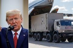 Nga đề nghị hỗ trợ Mỹ chống Covid-19, ông Trump nhận lời