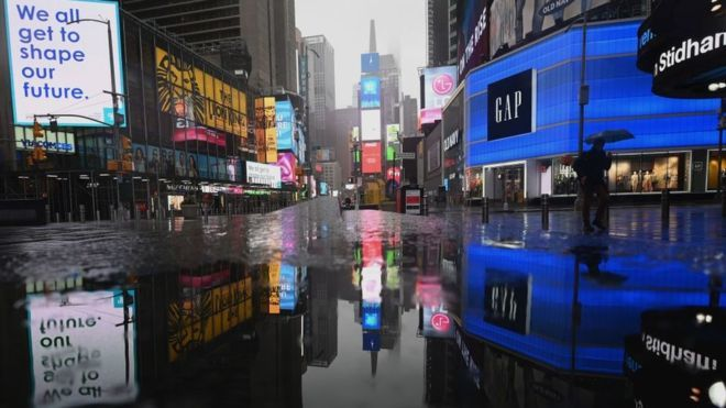 Coronavirus: Stock markets suffer worst quarter since 1987