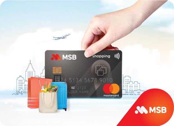 Ra mắt thẻ tín dụng Siêu Miễn Phí MSB Mastercard, ưu đãi hấp dẫn