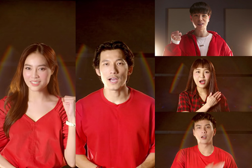 Đức Phúc, Lan Ngọc cùng dàn sao hát MV 'Việt Nam sẽ chiến thắng'