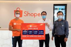Shopee ủng hộ 3 tỷ đồng chống dịch Covid-19