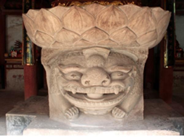 Bảo vật quốc gia: Tượng sư tử đá nghìn tuổi ở chùa Hương Lãng