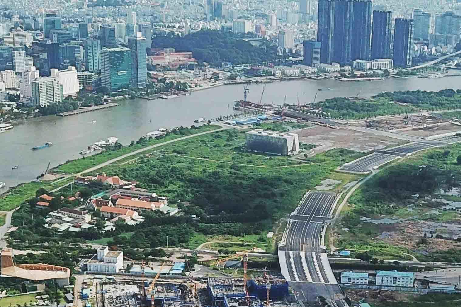 TPHCM xin sáp nhập 3 quận để thành lập thành phố trực thuộc thành phố - ảnh 1