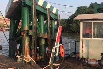 Phà Cát Lái gặp sự cố tai nạn, ngưng phục vụ xe trên 8 tấn